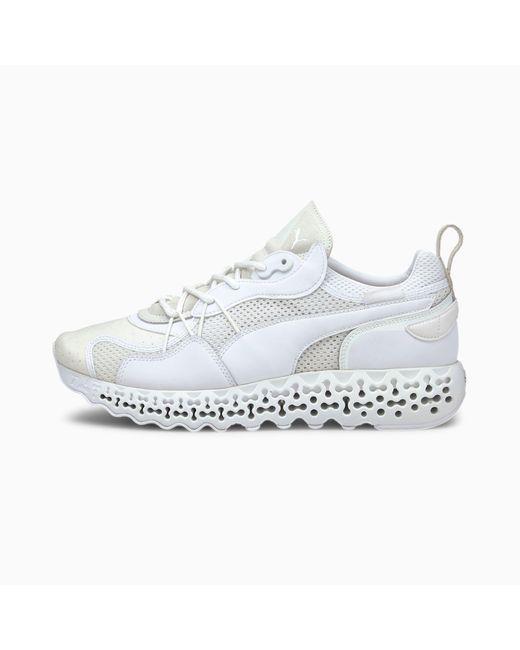 PUMA Calibrate Restored Base Sneakers in het White voor heren