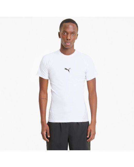 PUMA Exo-adapt Sportshirt Met Korte Mouwen Heren in het White