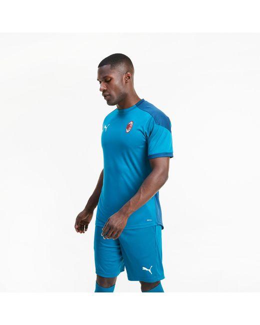 PUMA AC Mailand Trainingstrikot in Blue für Herren