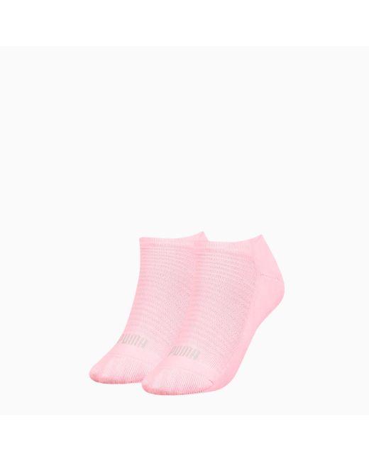PUMA Sneakersokken Dames 2 Paar in het Pink