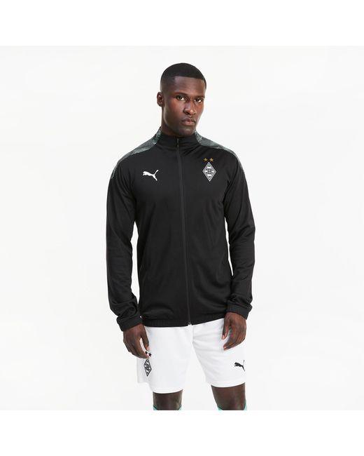 PUMA Borussia Mönchengladbach Stadium Voetbaljack Heren in het Black voor heren