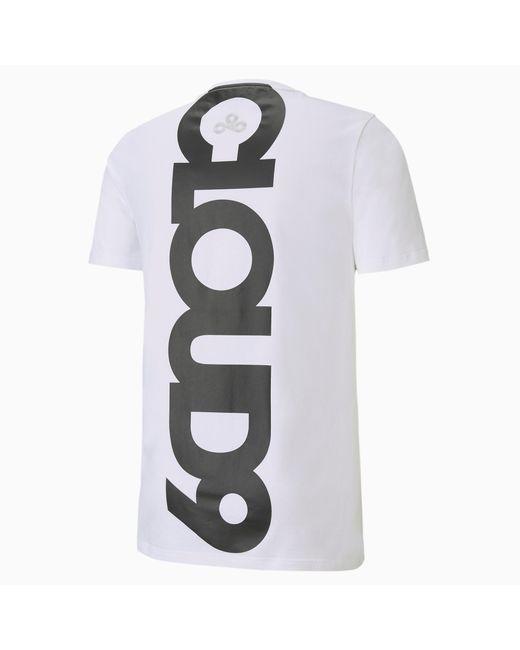 PUMA Cld9 Corrupted T-shirt in het White voor heren
