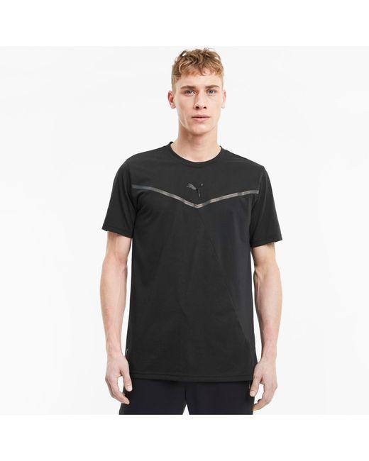 PUMA Thermo R+ BND Trainings-T-Shirt in Black für Herren