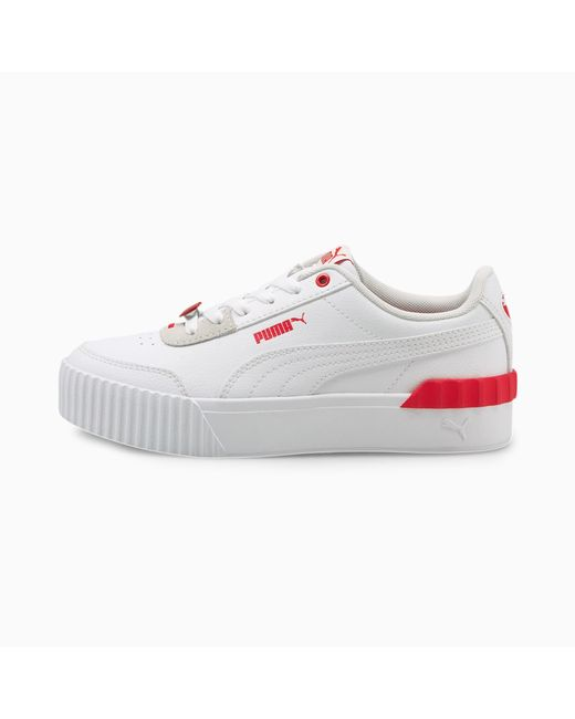 PUMA Carina Lift Valentine's Sneakers Dames in het White