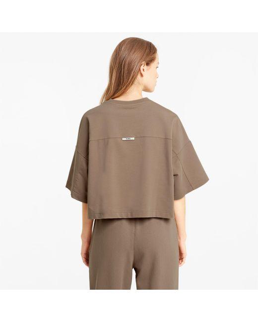 PUMA Infuse Losvallend T-shirt Dames in het Brown