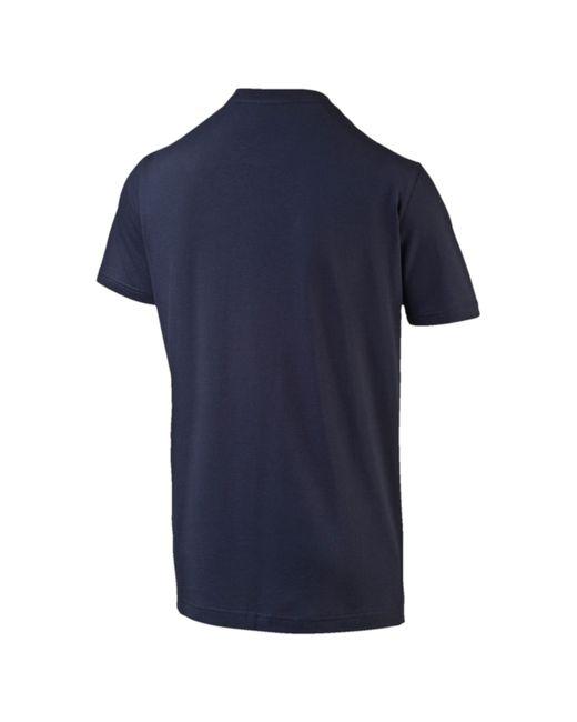 Puma Arsenal Fan T Shirt In Black For Men Lyst
