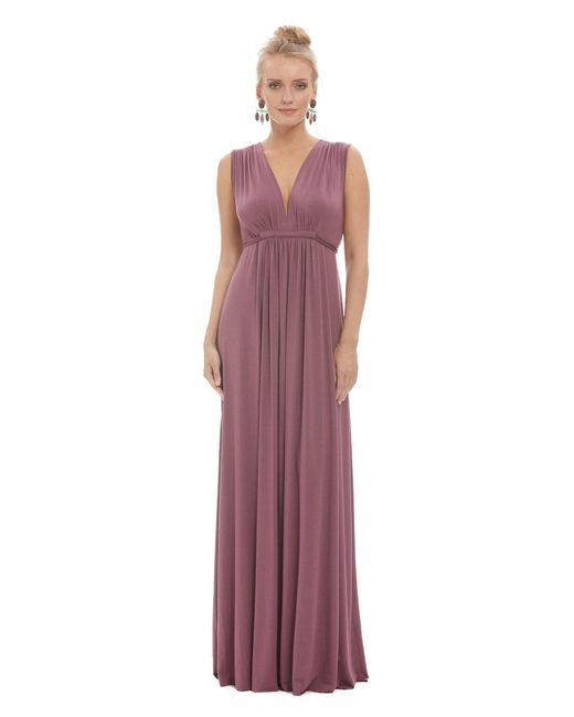 Rachel Pally - Purple Long Sleeveless Caftan - Cameo - Lyst