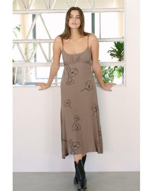 Rachel Pally Multicolor Crepe Odell Dress