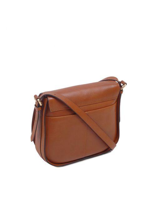 ... Radley - Brown Painters Mews Medium Flapover Cross Body Bag - Lyst ... 4c46aa27f6