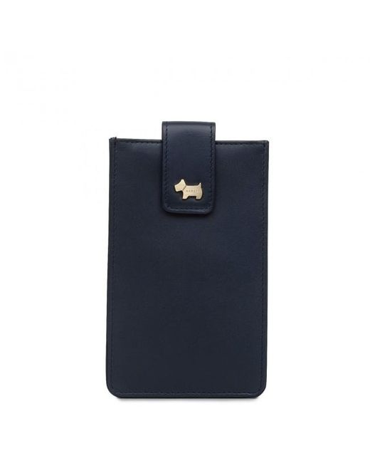 Radley Blue Oak Hill Woods Medium Phone Case