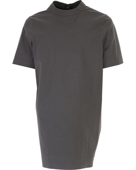 T-shirt Homme Pas cher en Soldes Outlet Rick Owens pour homme en coloris Gray