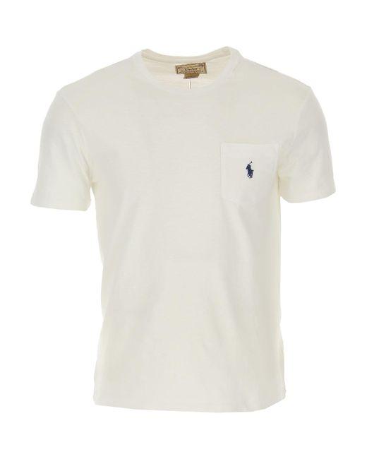 T-Shirt Uomo di Ralph Lauren in White da Uomo