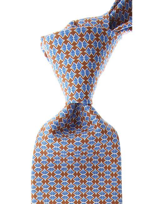 Corbatas Baratos en Rebajas Battistoni de hombre de color Blue