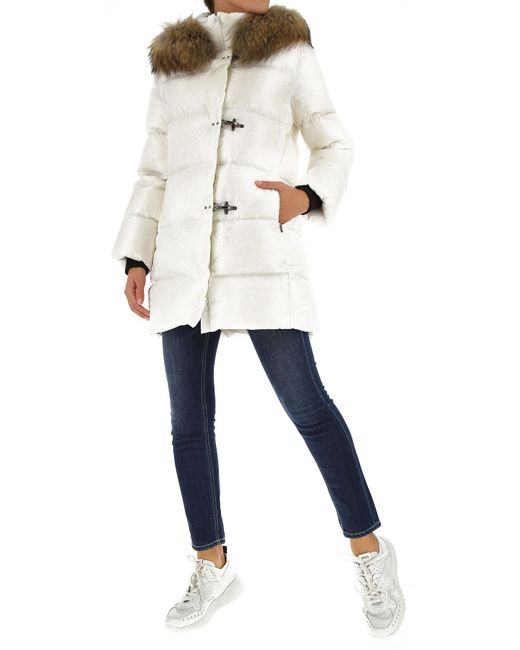 Doudoune Femme Fay en coloris White