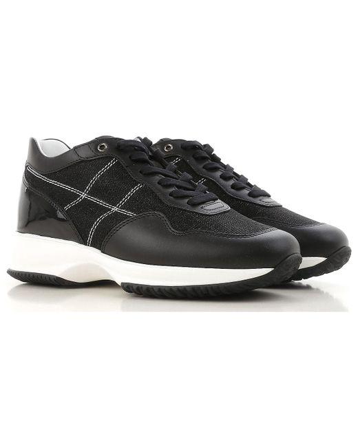 Hogan - Black Sneakers For Women On Sale - Lyst