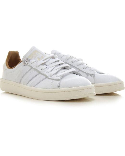 Sneaker Homme Pas cher en Soldes Outlet Adidas pour homme en coloris White