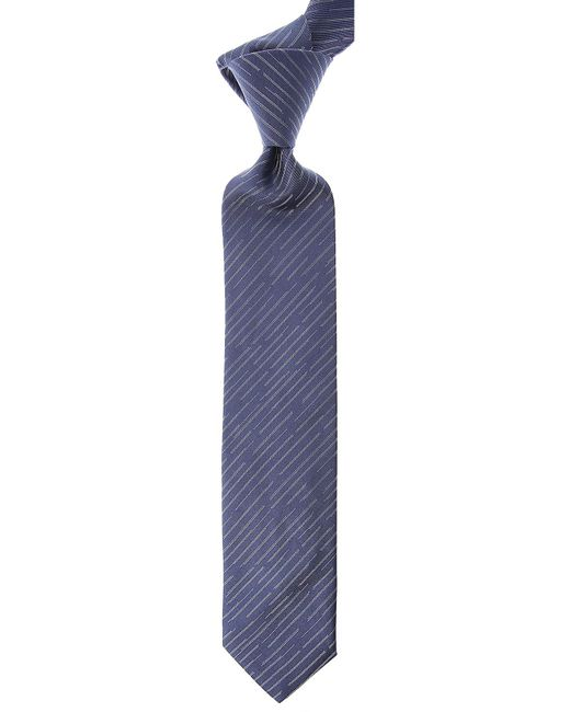 Corbatas Baratos en Rebajas Lanvin de hombre de color Blue