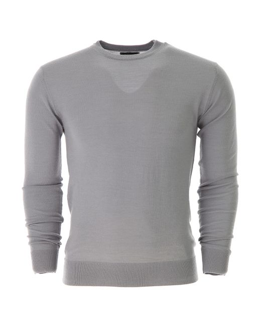 Guess Gray Sweater For Men Jumper On Sale for men