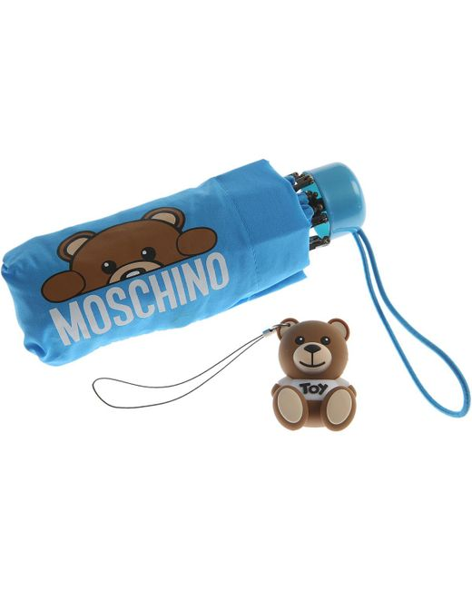 Moschino Blue Womens Accessories