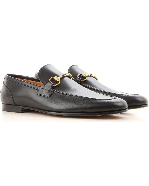Gucci Black Shoes For Men for men