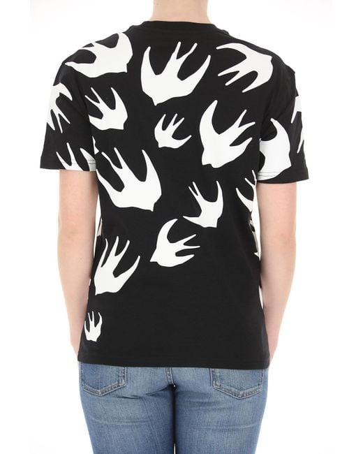 T-shirt Femme McQ Alexander McQueen en coloris Black