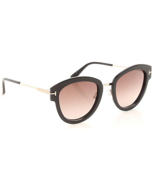 Tom Ford Black Sunglasses On Sale