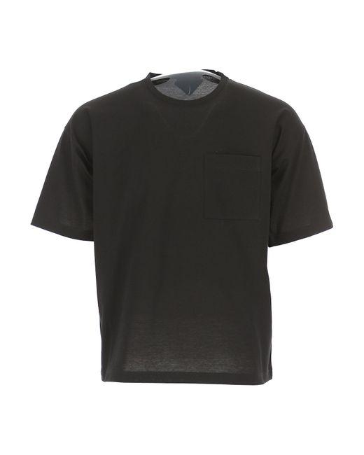 T-shirt Homme Pas cher en Soldes Outlet Prada pour homme en coloris Black