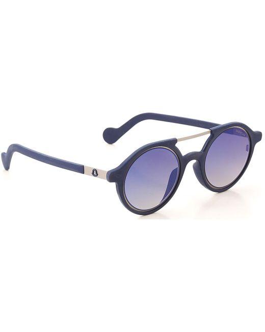 Moncler Blue Sunglasses
