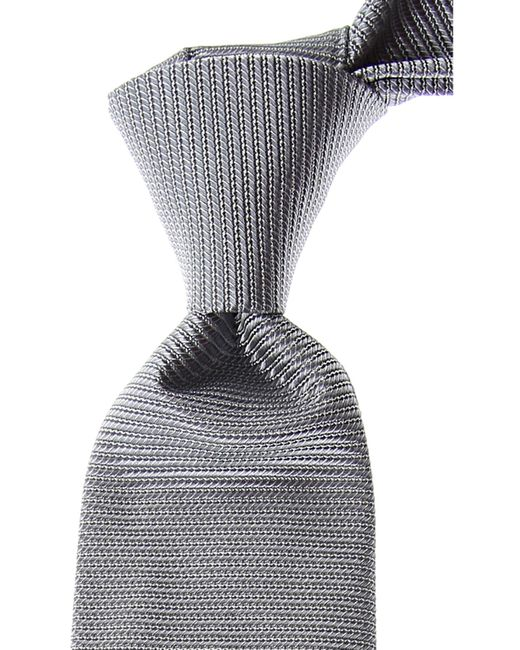 Valentino Gray Ties On Sale for men