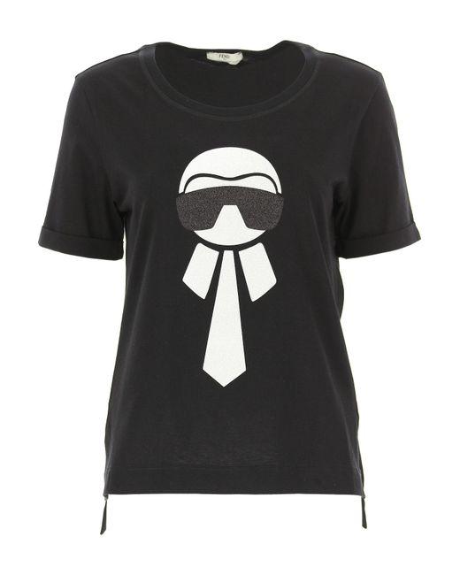 51e685d0 Fendi - Black Clothing For Women - Lyst ...