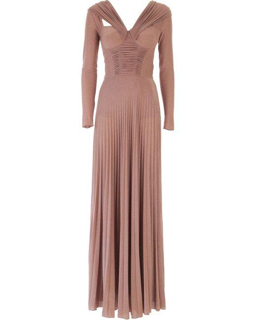 Elisabetta Franchi Pink Kleid für Damen