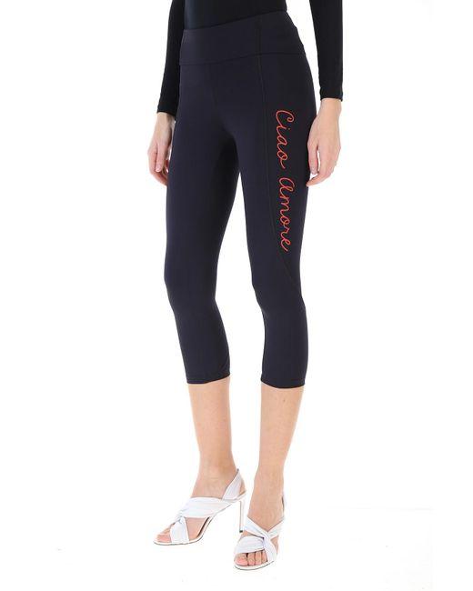 Giada Benincasa Pantalon Femme Pas cher en Soldes de coloris noir