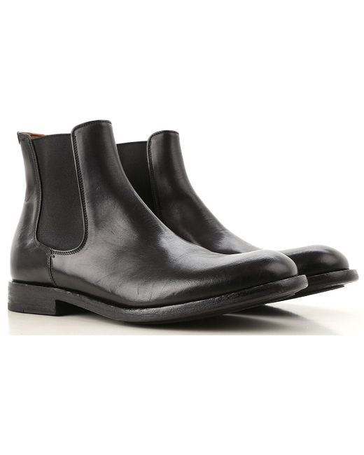 Pantanetti - Black Chelsea Boots For Men for Men - Lyst