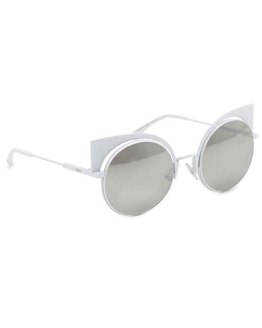 Fendi - Multicolor Sunglasses - Lyst