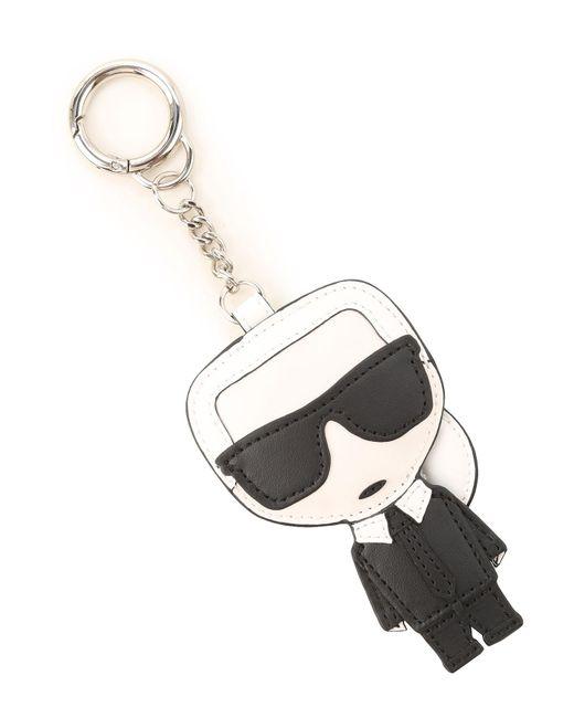 Karl Lagerfeld Black Key Chain For Women