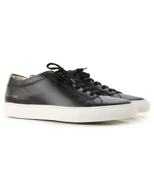 99badfff476c Common Projects - Black Sneakers For Men for Men - Lyst ...