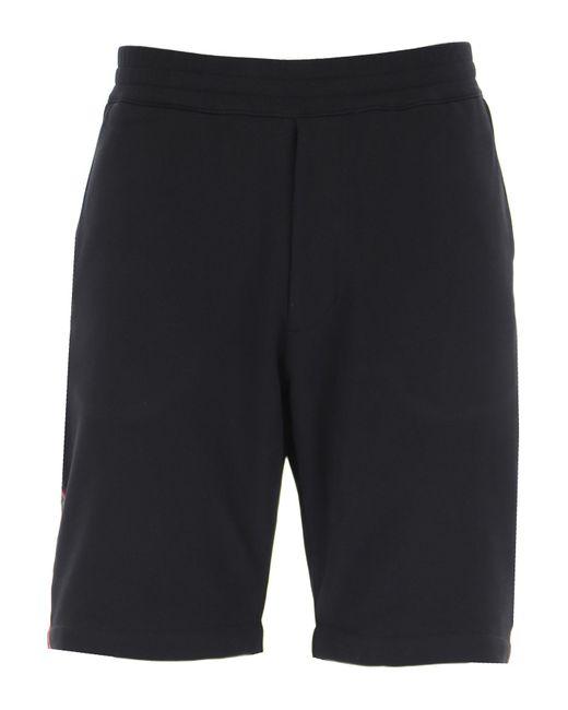 Pantaloncini Shorts Uomo In Saldo di Alexander McQueen in Black da Uomo