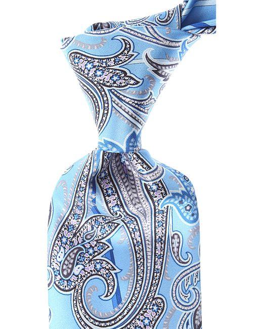 Cravates Pas cher en Soldes Vitaliano Pancaldi pour homme en coloris Blue