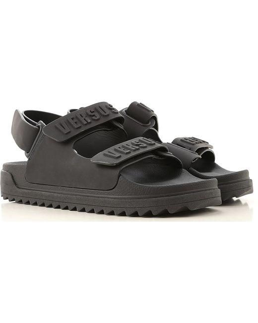 Versace Sandalen für Herren Günstig im Sale in Black für Herren
