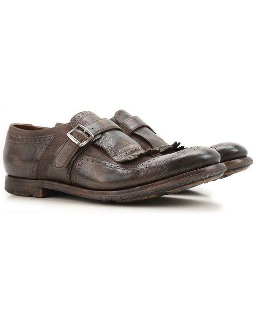 Church's - Brown Zapatos Calados Brogue Baratos en Rebajas for Men - Lyst