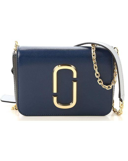 Marc Jacobs Blue Shoulder Bag For Women