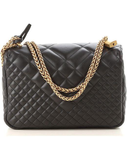 a0512c3691 ... Versace - Black Sac Bandoulière Femme Pas cher en Soldes - Lyst ...
