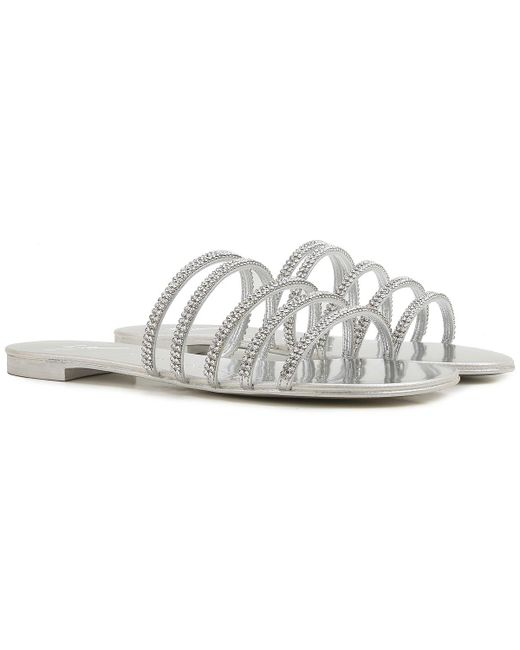 bbf05cbbbdd5a3 Giuseppe Zanotti - Metallic Sandals For Women On Sale In Outlet - Lyst ...