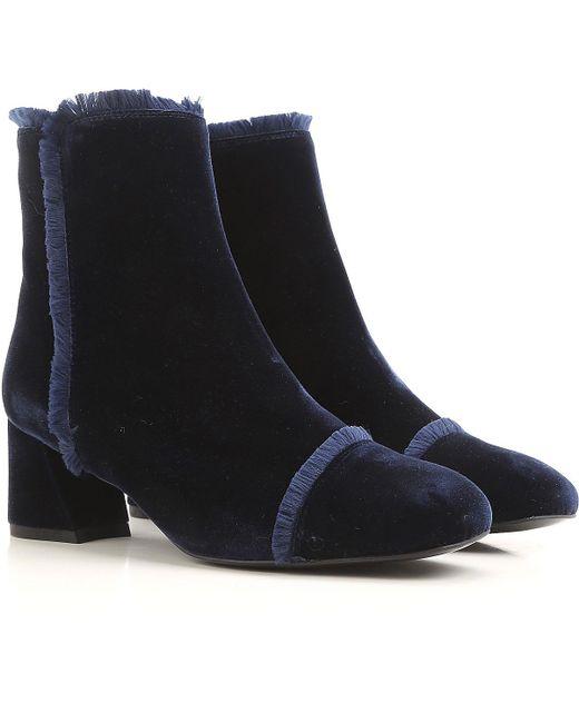 Botas de Mujer Stuart Weitzman de color Blue