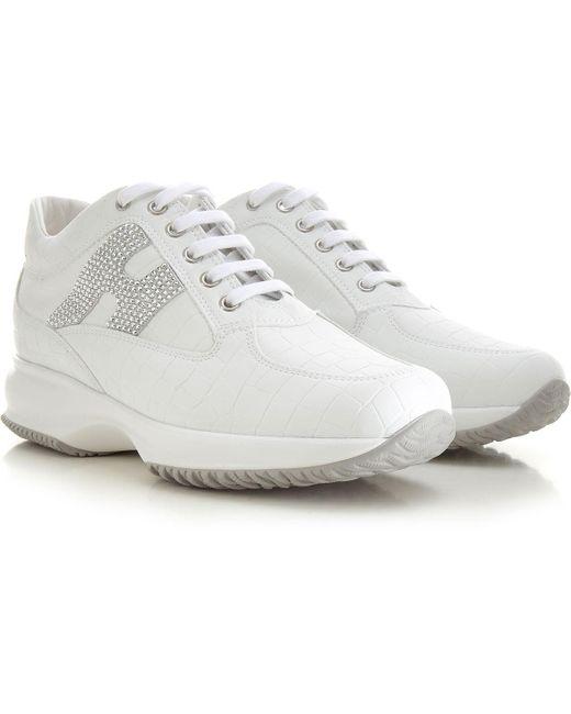 Hogan White Sneaker für Damen