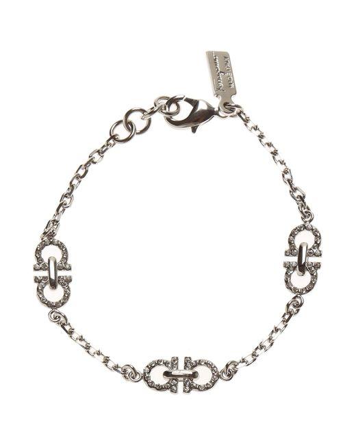 Ferragamo - Metallic Bracelet For Women - Lyst