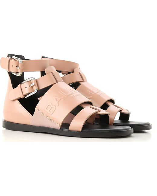 Balmain - Pink Sandals For Women On Sale - Lyst