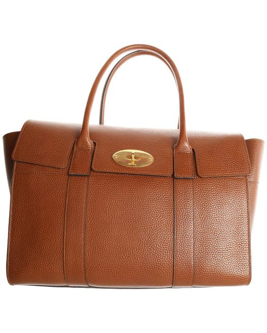 59bc725d85 Lyst - Mulberry MULBERRY Borsa bayswater marrone in Brown - Save 32%