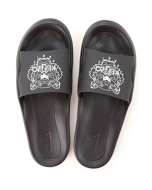 KENZO Black Sandals For Men for men