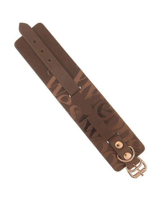 Vivienne Westwood - Brown Bracelet For Men for Men - Lyst